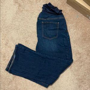 Old navy maternity jeans size 14 short